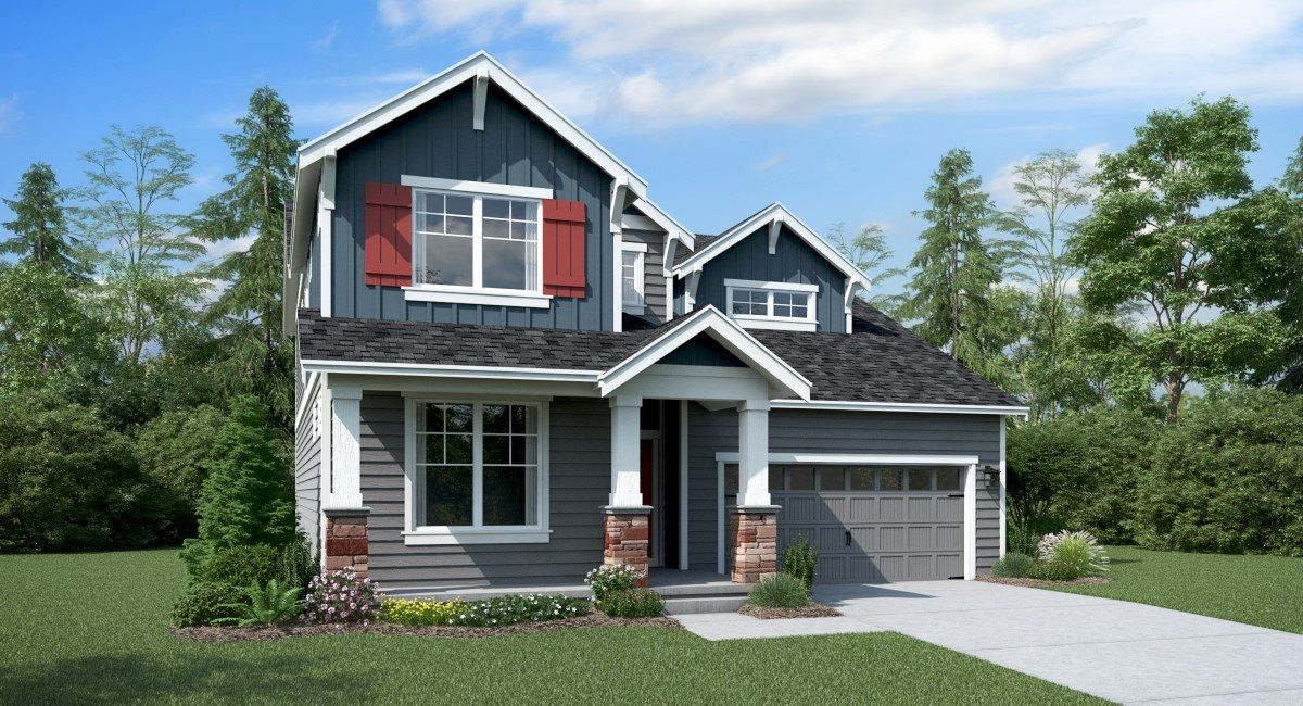 The Grandview home, Elevation A