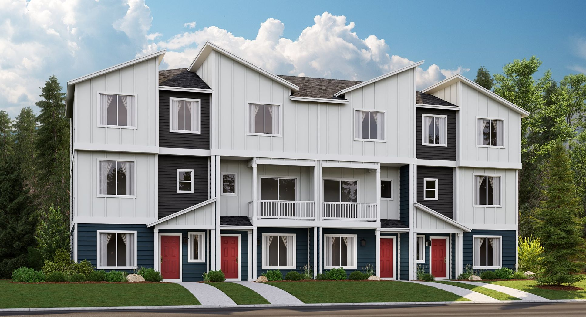 Village Green Townhomes at Ten Trails