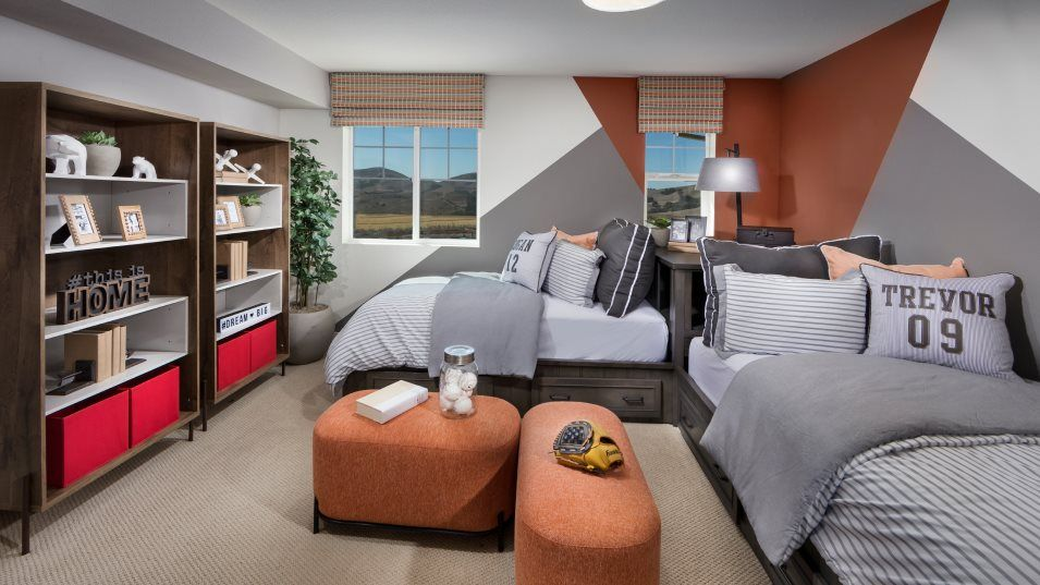 The Preserve Hillcrest Residence 2 Bedroom 3:With four bedrooms in total, everyone can enjoy their space.