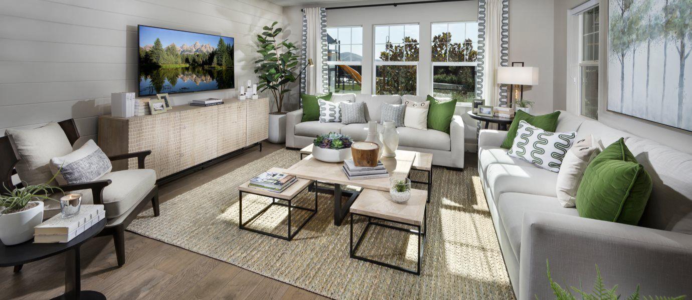 The Preserve Hillcrest Residence 4 Living Room