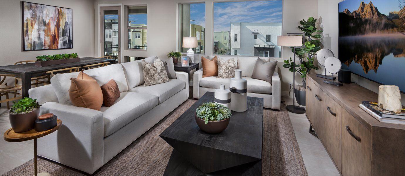 Boulevard Skyline Residence 2 Living Room