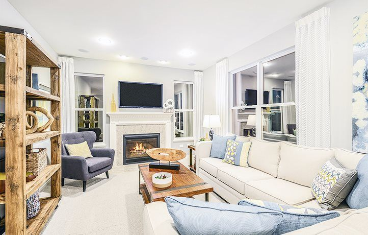 Bright and open family room