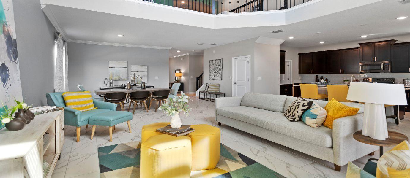 ChampionsGate Luxury Villas Alexander Palm Living
