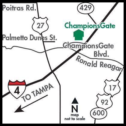 ChampionsGate map