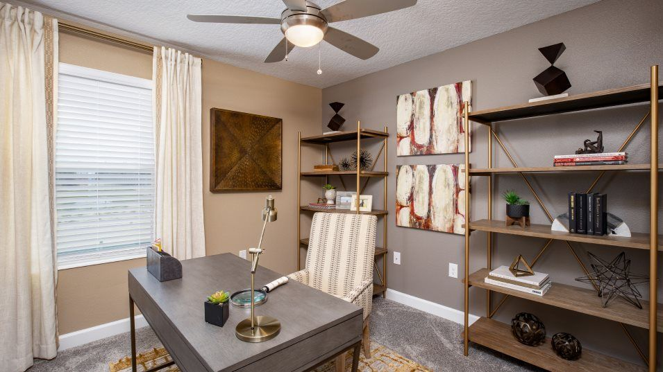 Estates at Lake Hammock Lucas Bedroom 3:Any of the secondary bedrooms can easily be transformed to suit the household's needs whether it's a