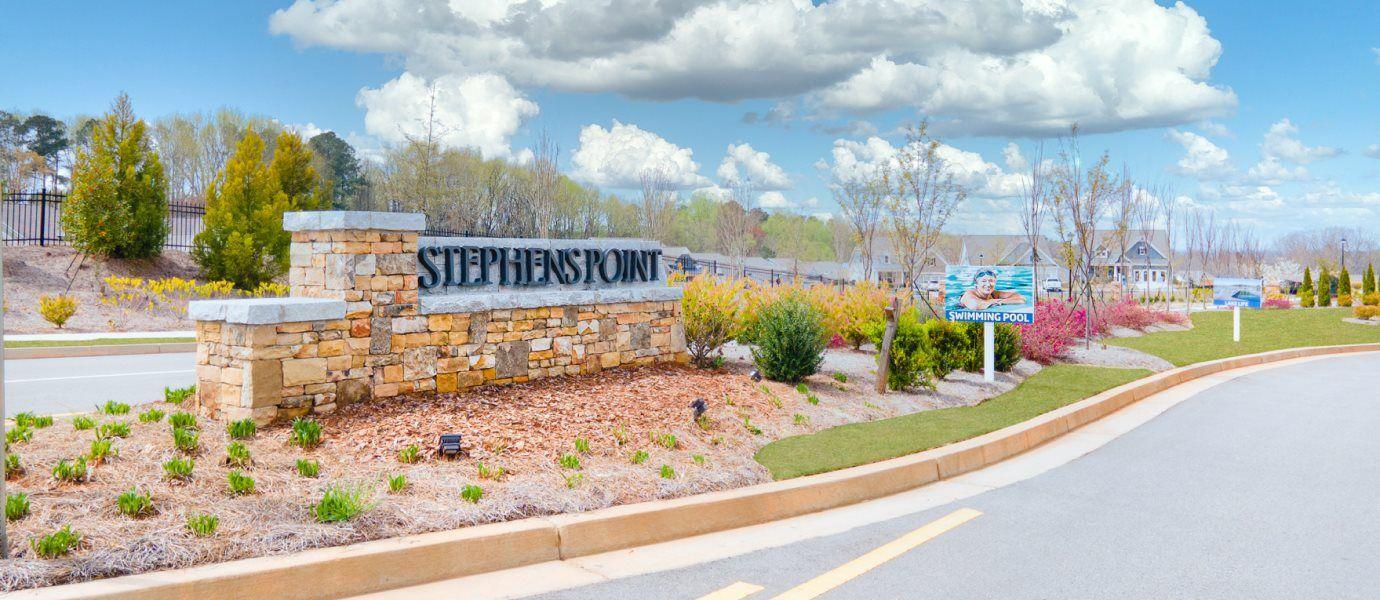 Stephens Point entrance