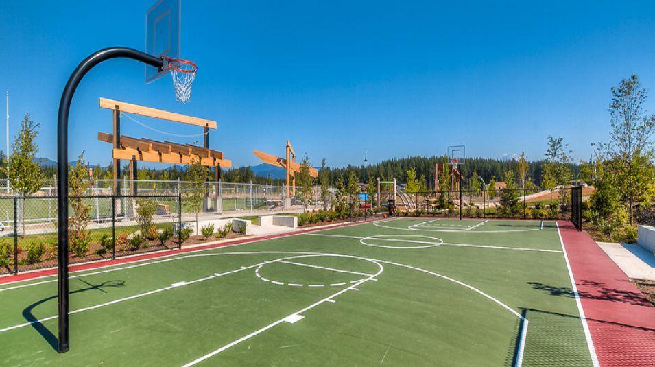 Ten Trails Basketball Court