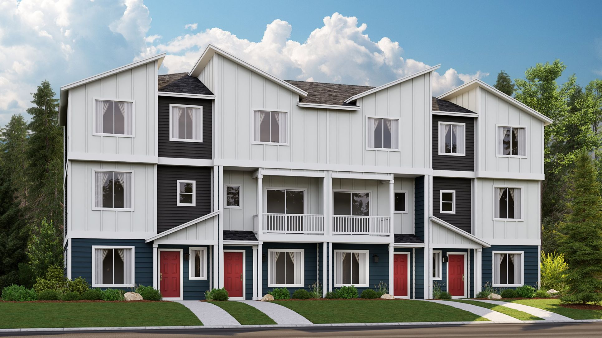 Village Green Townhomes - Aster Exterior