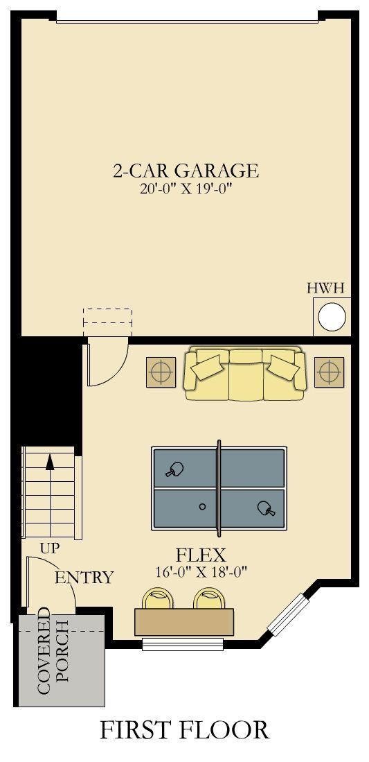 First Floor Furnished