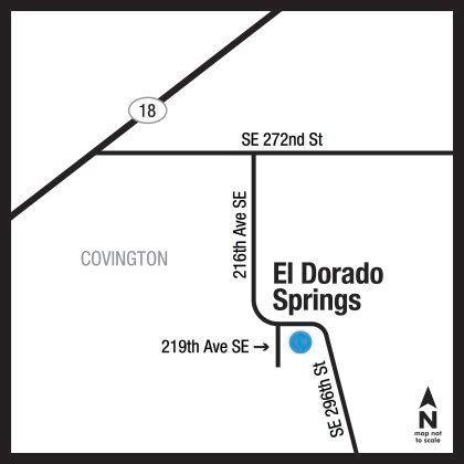 Location of Eldorado Springs