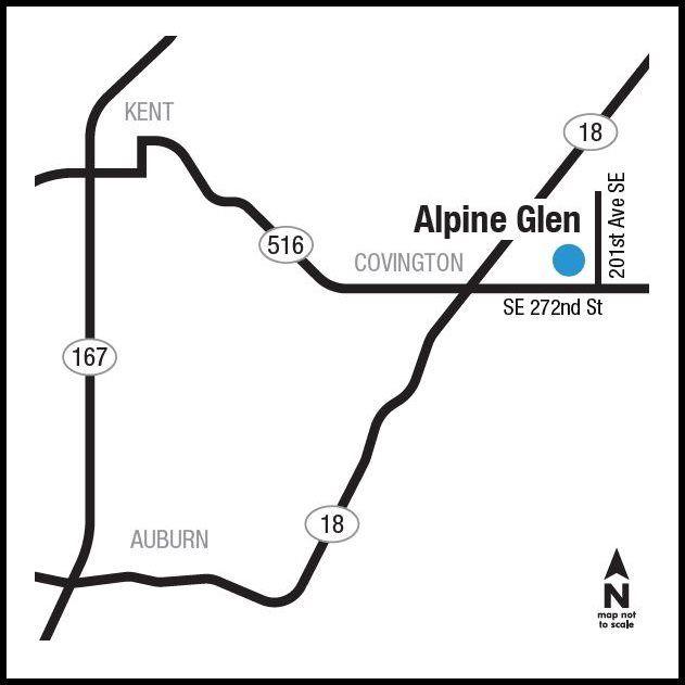 Alpine Glen Location