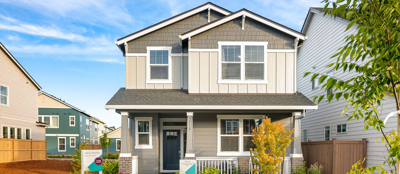 Two-story home at Legacy at Reed's Crossing