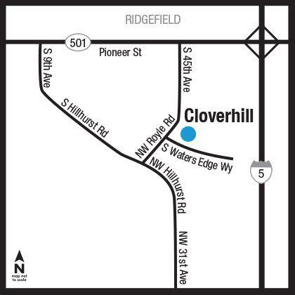 Cloverhill Map
