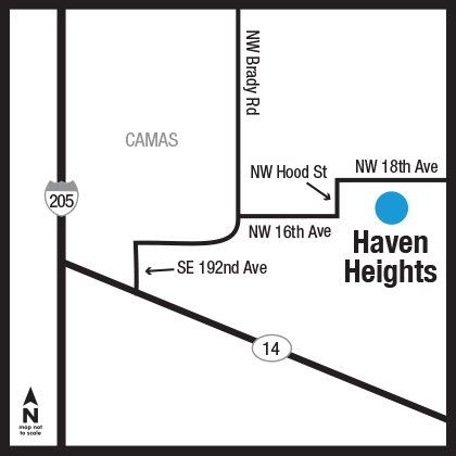 Haven Heights Map