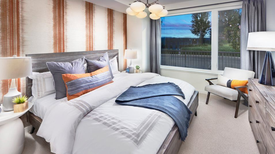 The Shipyard Landing 10 Innes #401 Owner's Suite:A relaxing getaway, the private owner's suite is host to a luxurious spa-inspired bathroom and a gen