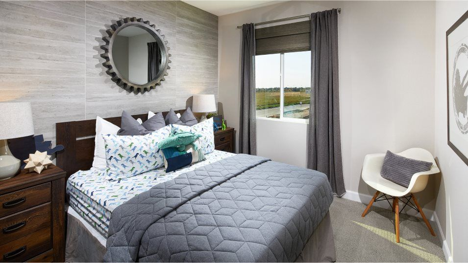 Millenia Vibe Residence 2 Bedroom 3:With three bedrooms in total, this home is great for growing families.