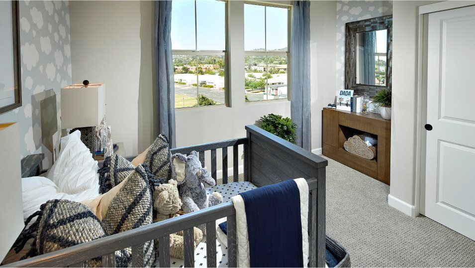 The Peak at Delpy's Corner Residence 3 Bedroom 2:These secondary bedrooms are perfect for younger family members or overnight guests.