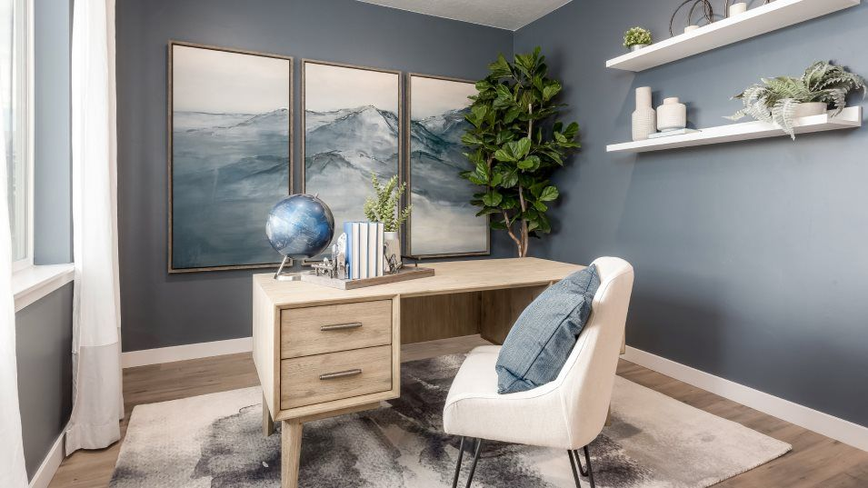 Shamrock Village Tahoe Living Room:At the front of the home, this living room can be easily transformed to suit your household – whethe
