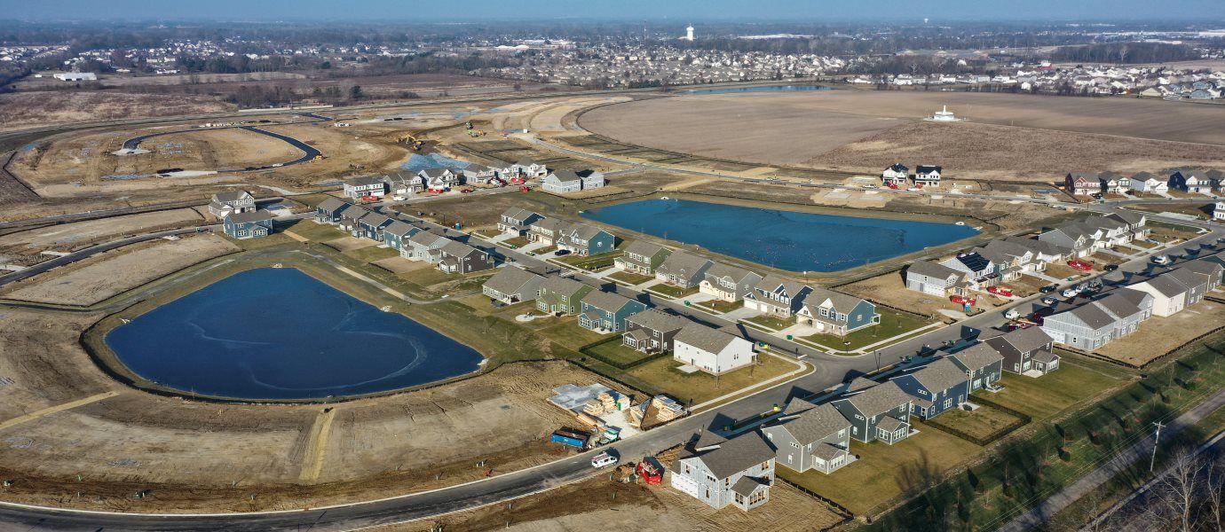 Laurelton Cornerstone Aerial
