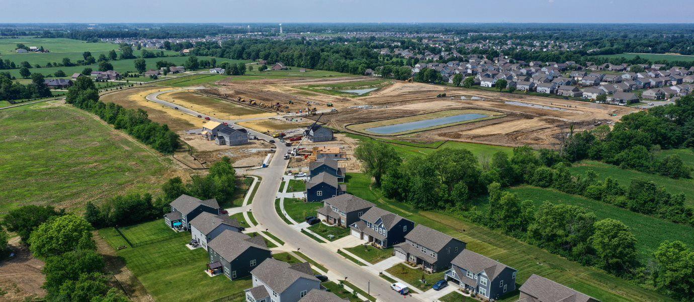 McCord Pointe Community Aerial