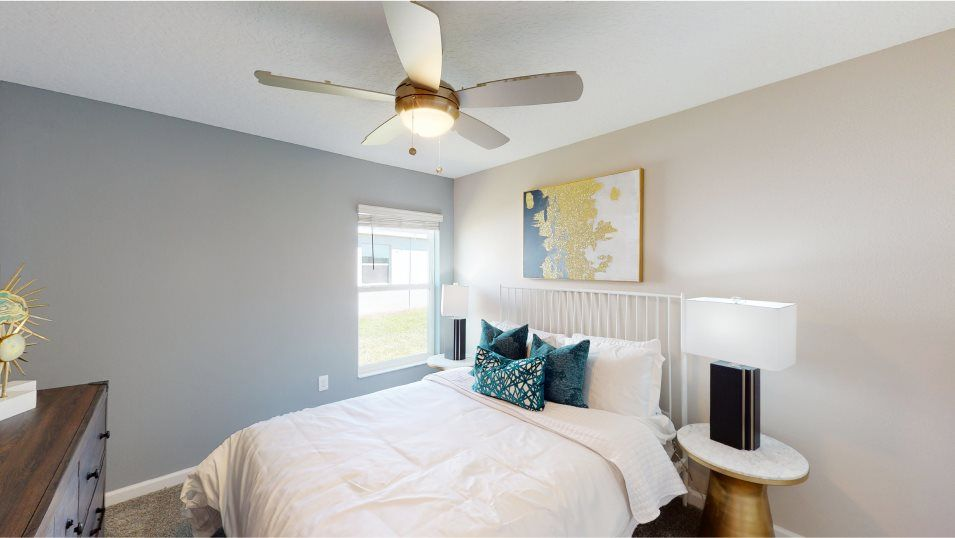 Bellevue Dover Bedroom 3:The two secondary bedrooms are restful retreats for family members or overnight guests.