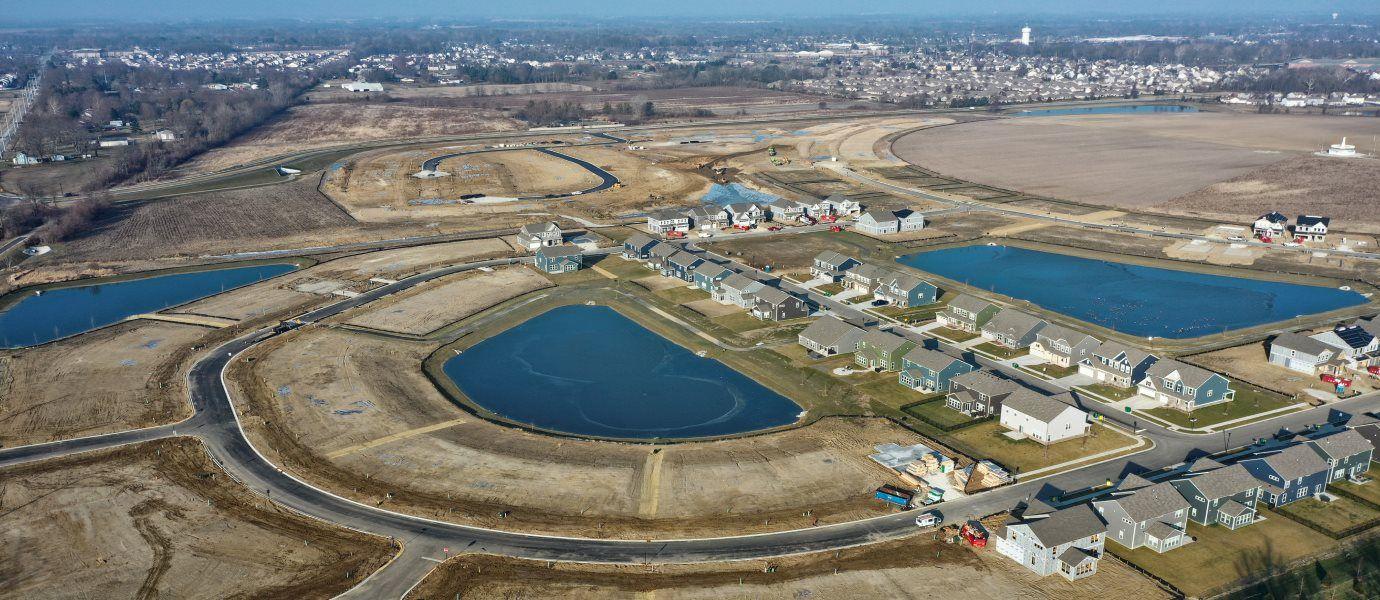 Laurelton Villas Aerial