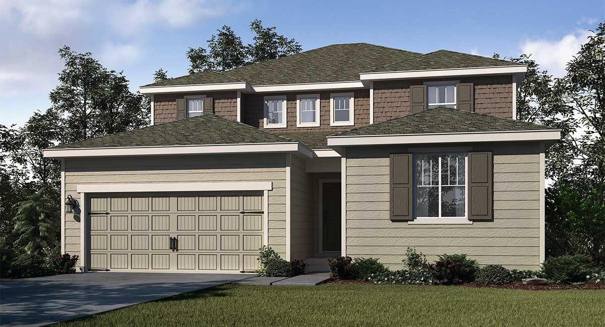 The Bainbridge Next Gen home, A Elevation