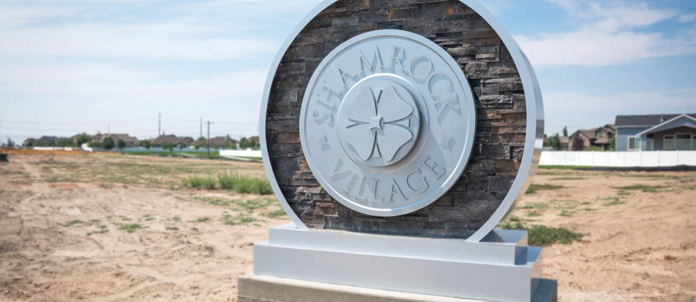 Shamrock Village Entry Monument