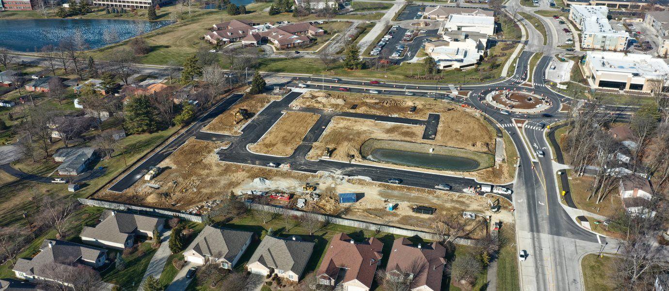 Bellevue Aerial Photo
