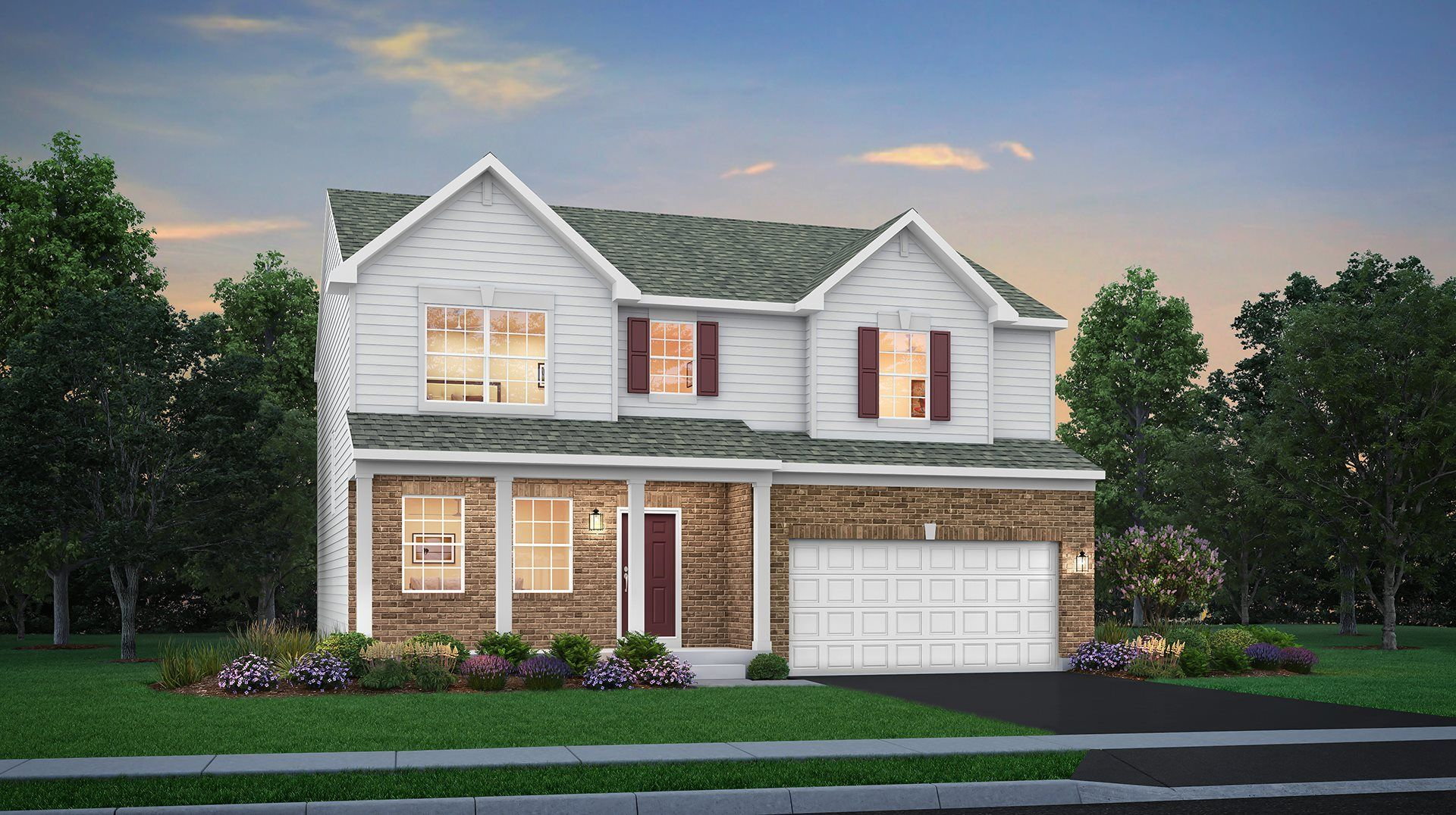 Greywall Club Single Family Townsend Elevation D