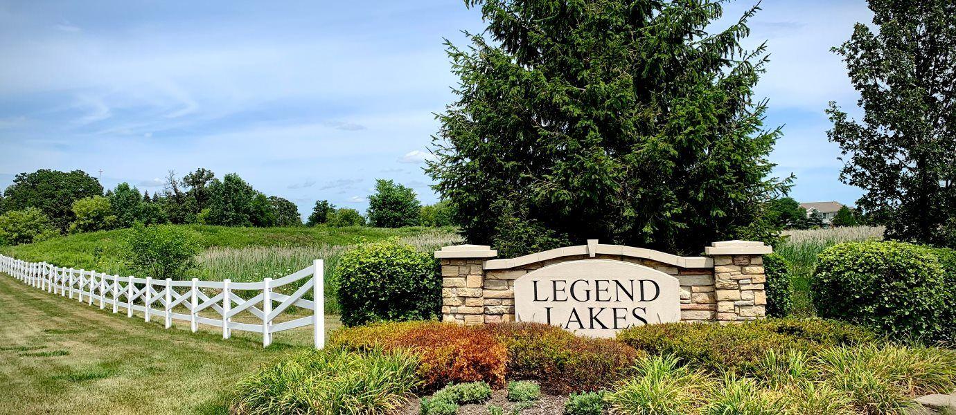 Entrance to Legend Lakes