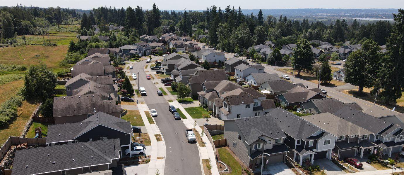 Aerial view of Autumn Vista