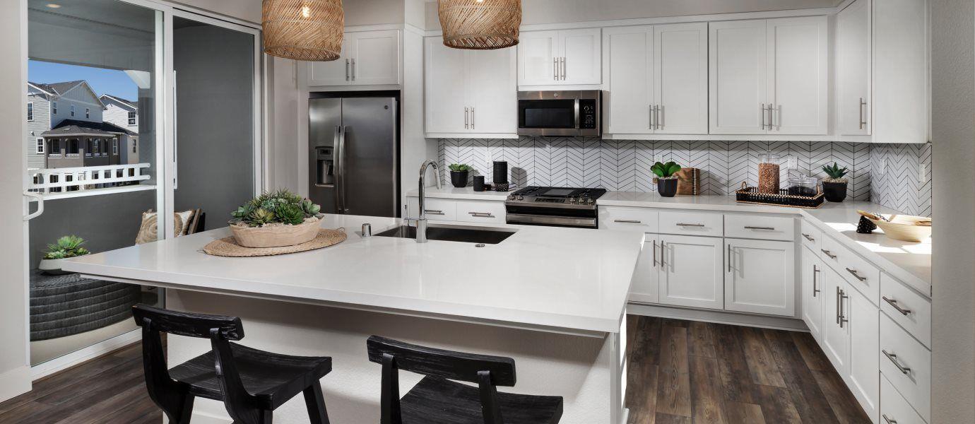 Bridgeway Courts Residence Five Kitchen
