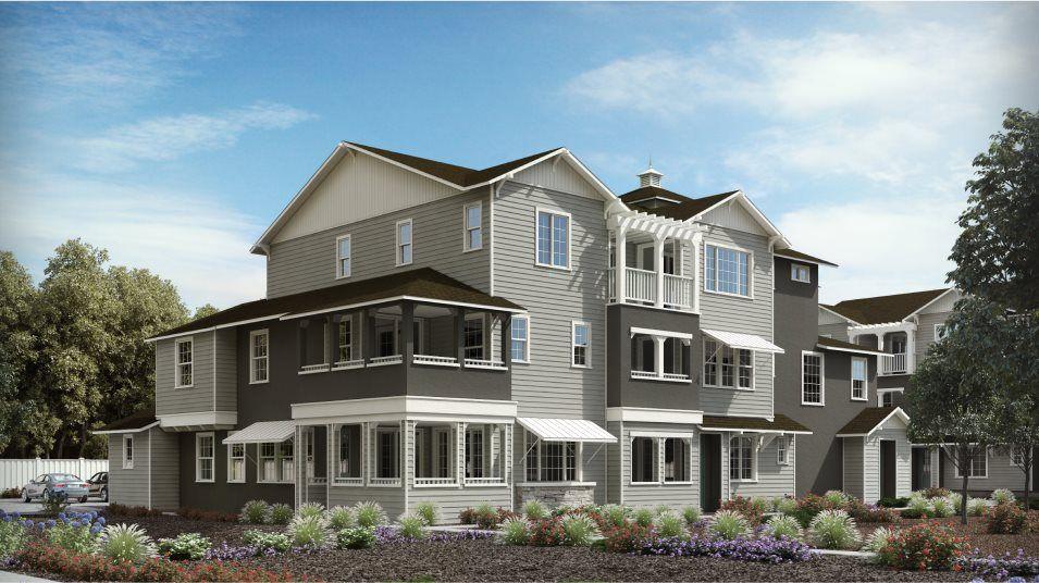 Bridgeway Courts Residence Four A Exterior 4Plex S