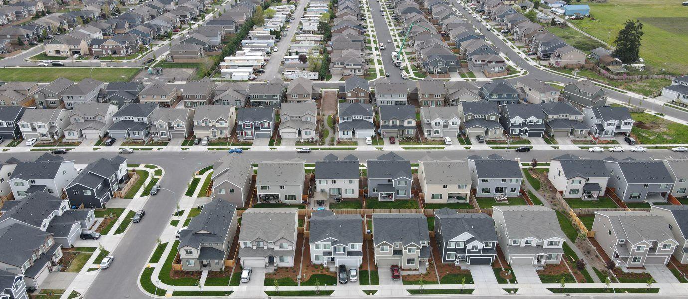 Community aerial of Stewart Crossing
