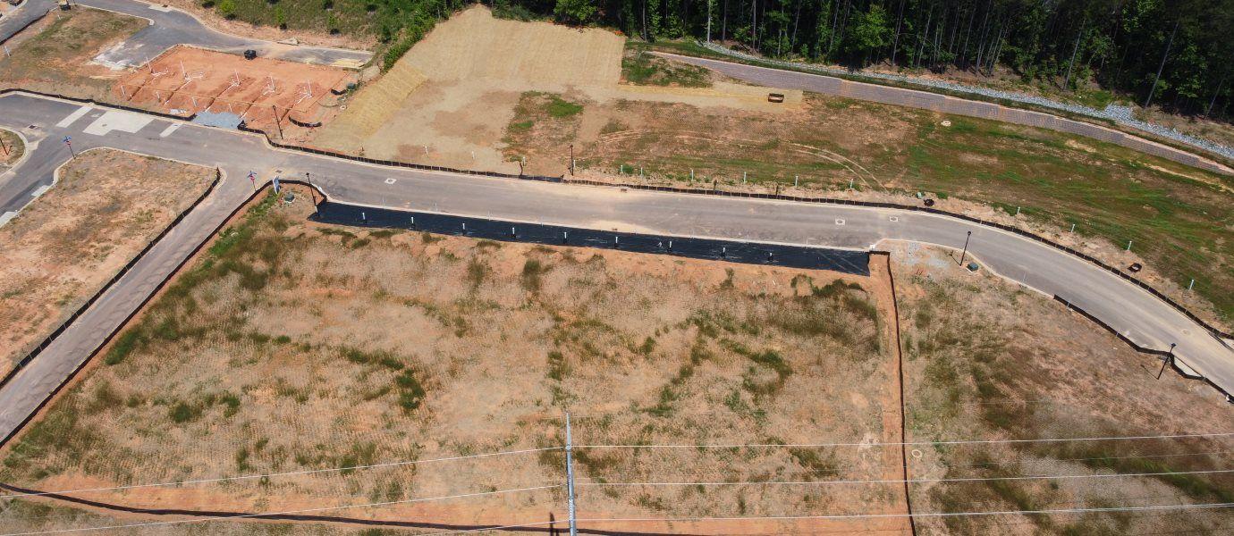 Aerial View of Kennedy Walk