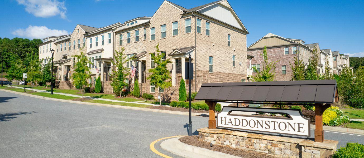Haddonstone Welcome Sign