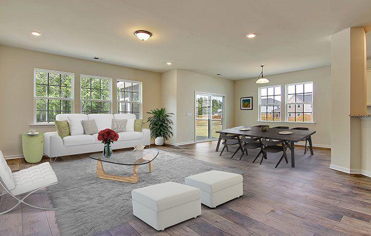 Breakfast & Living Rooms