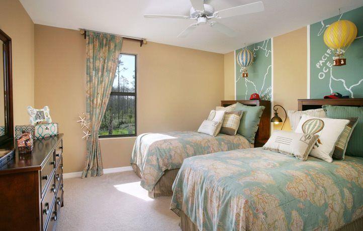 Coconut bedroom