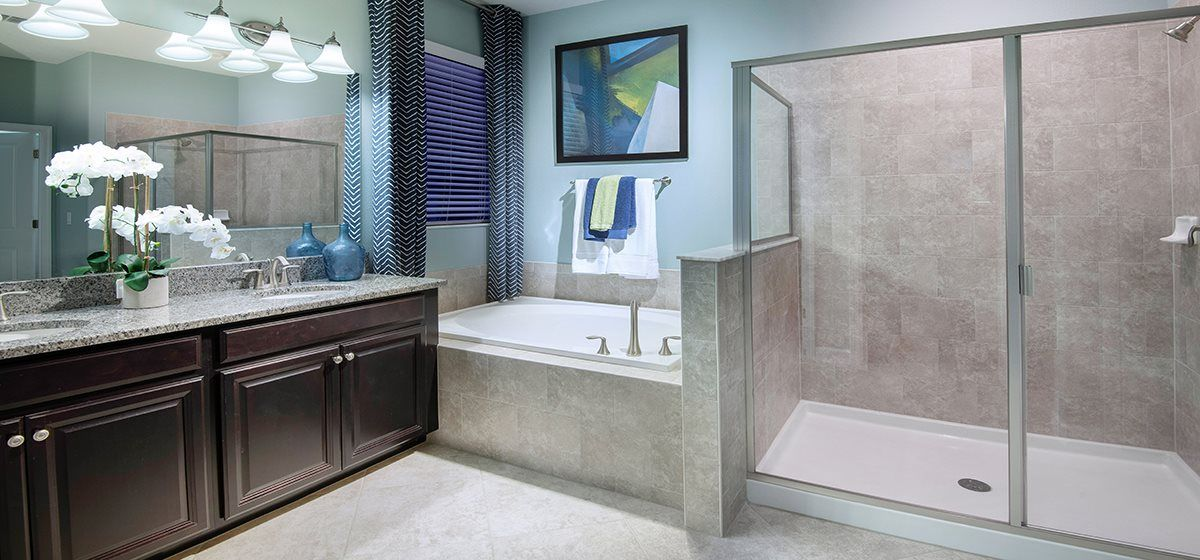 The North Carolina Master Bathroom