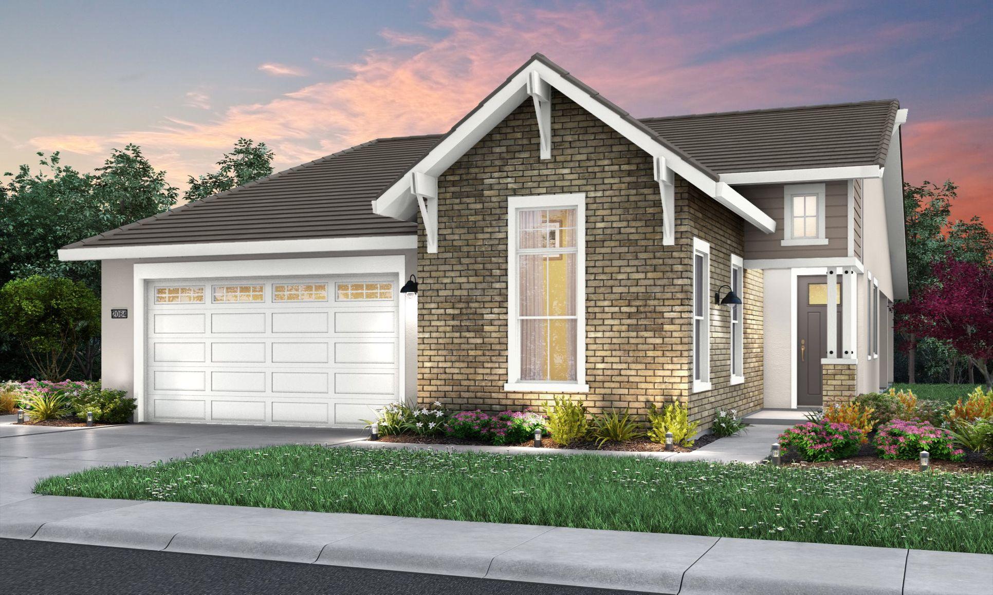 Residence 2064 | Elevation D