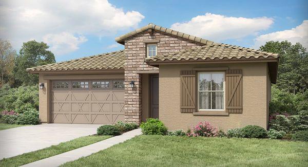 Sage Plan 4022 H Ranch Hacienda