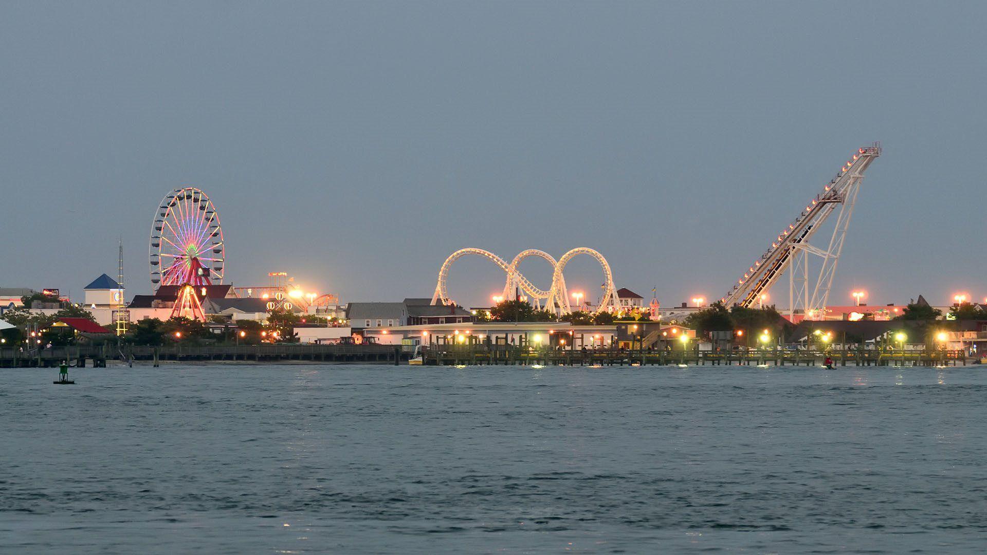 Nearby   Ocean City's Pier