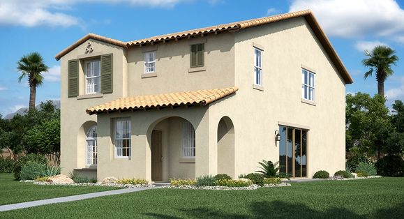 3025 Plan Spanish Elevation A