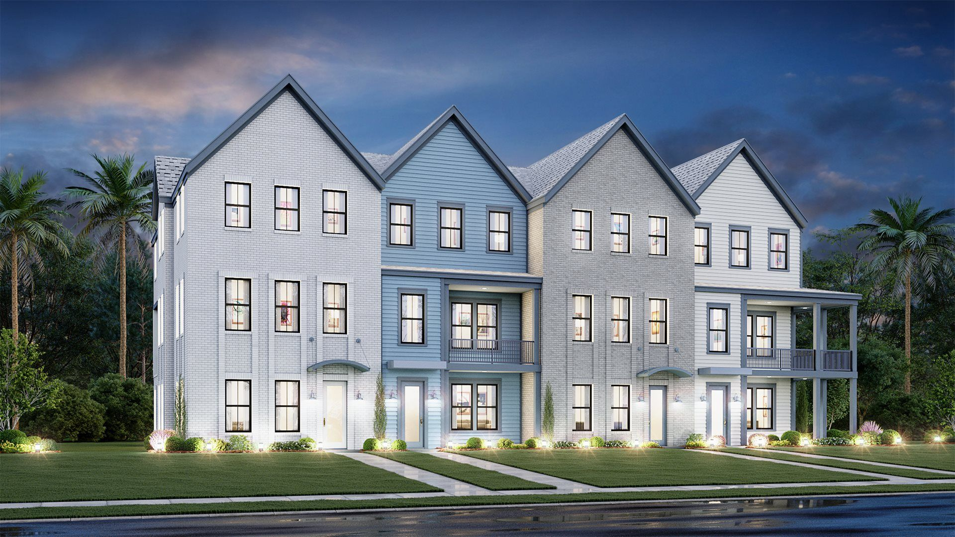New Townhomes in Mount Pleasant