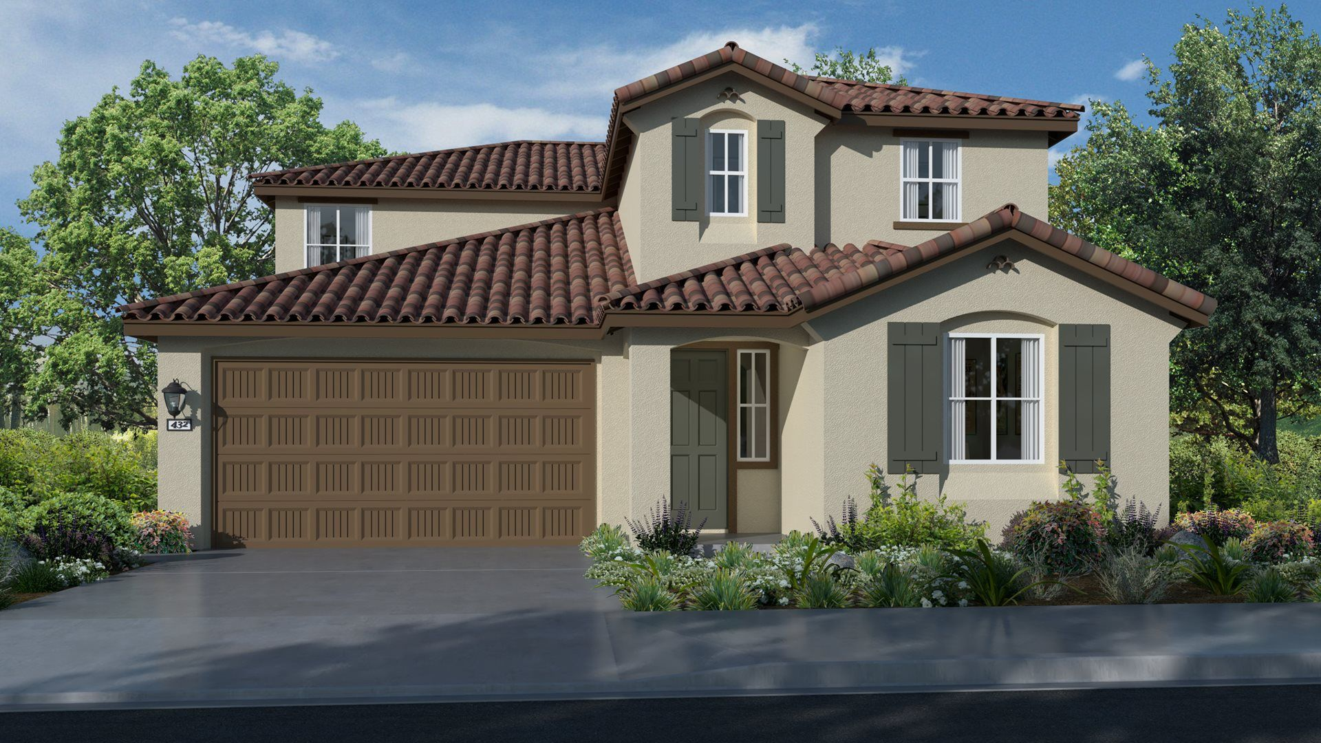 Residence 3033 | Elevation A