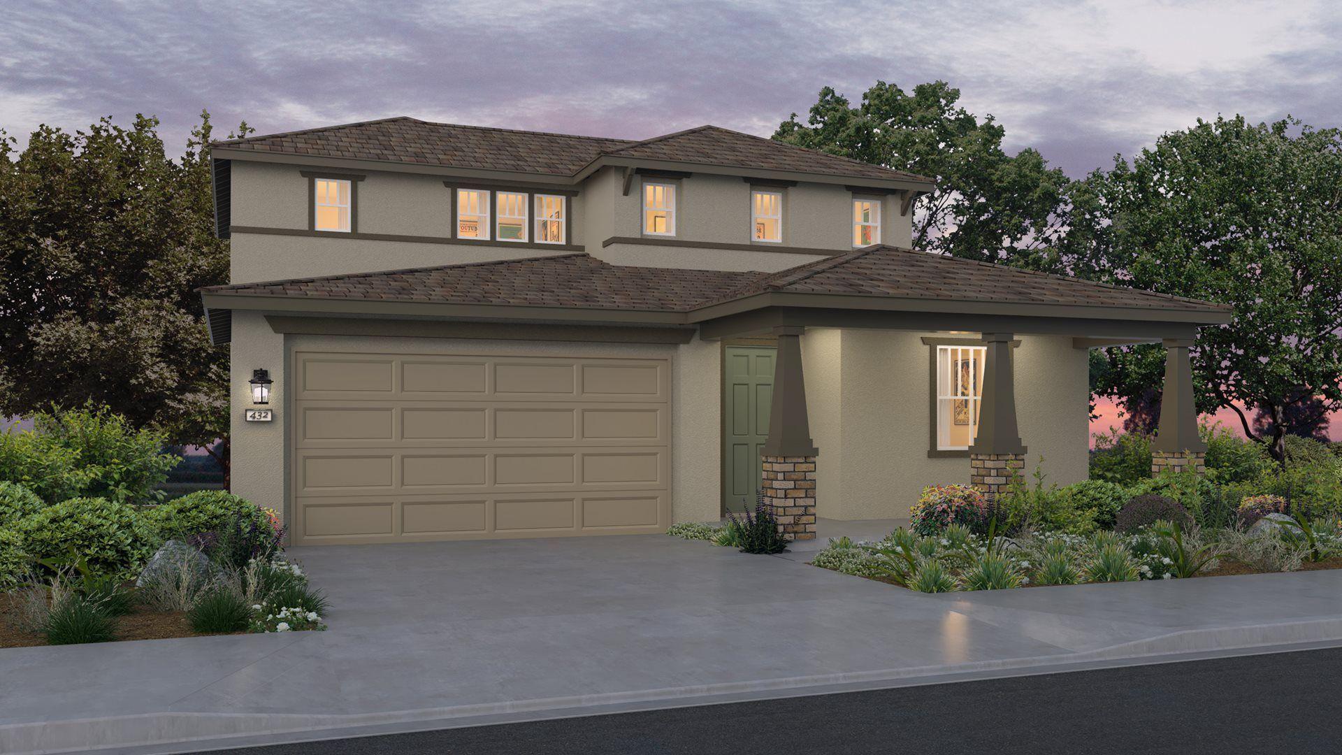 Residence 2403| Elevation B