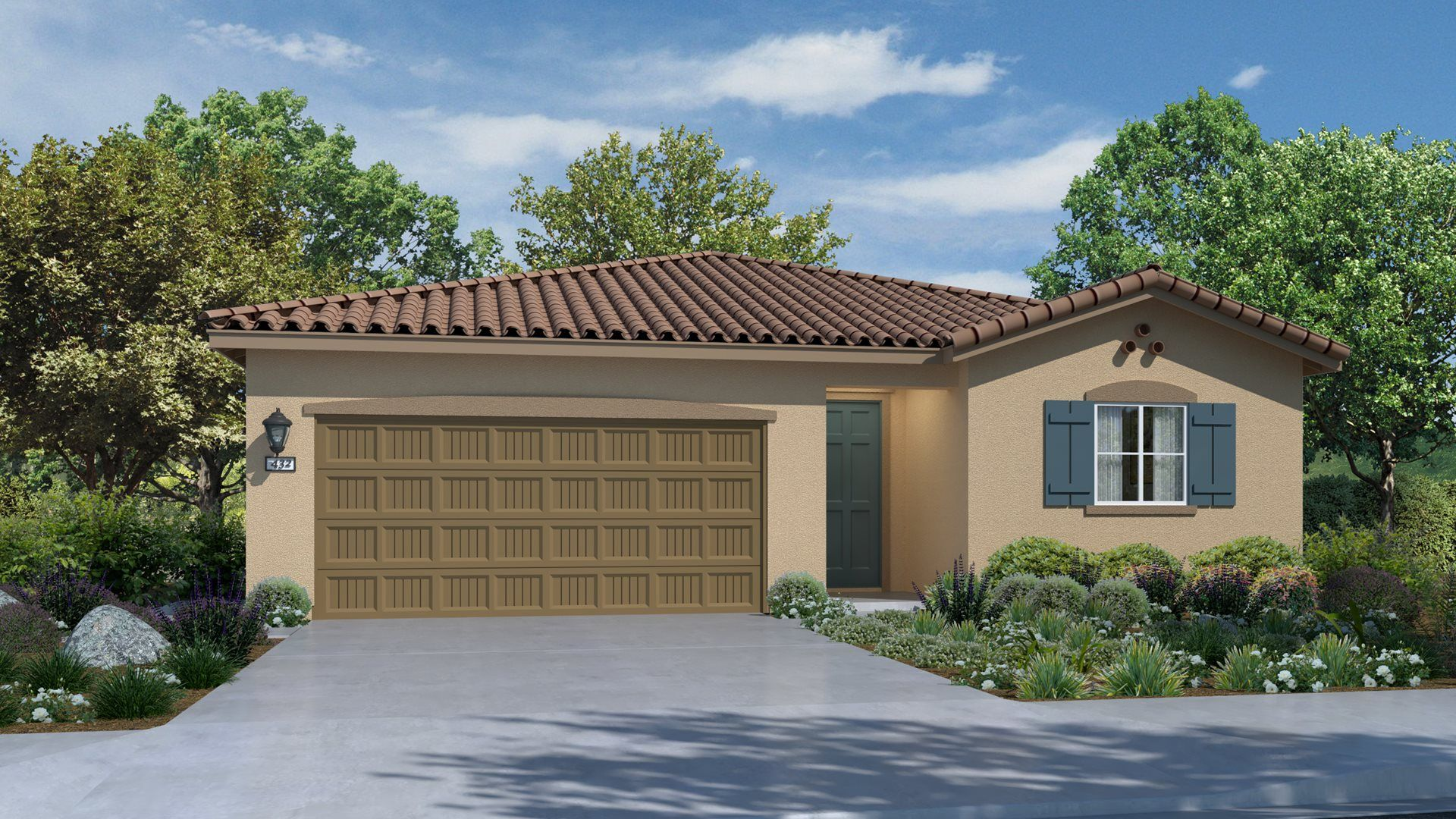 Residence 1772 | Elevation A