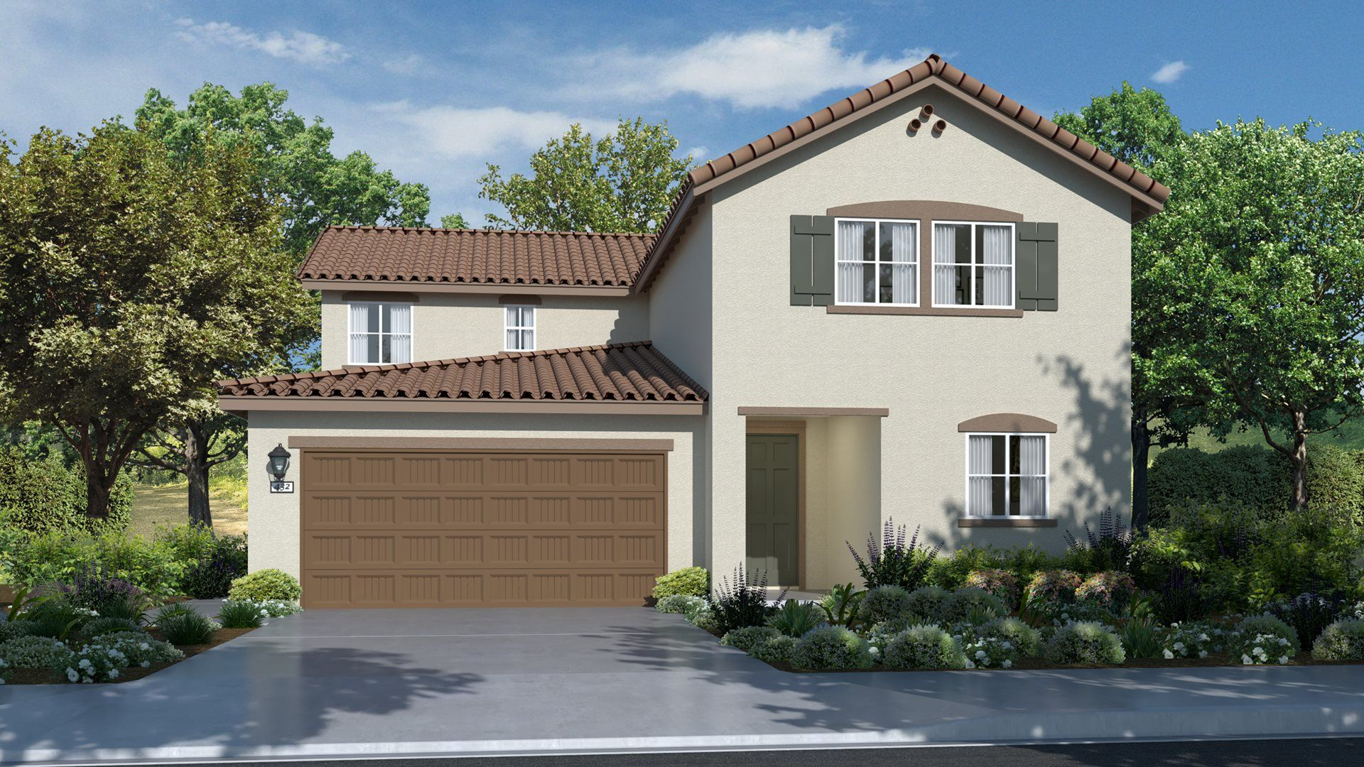 Residence 2410 | Elevation A