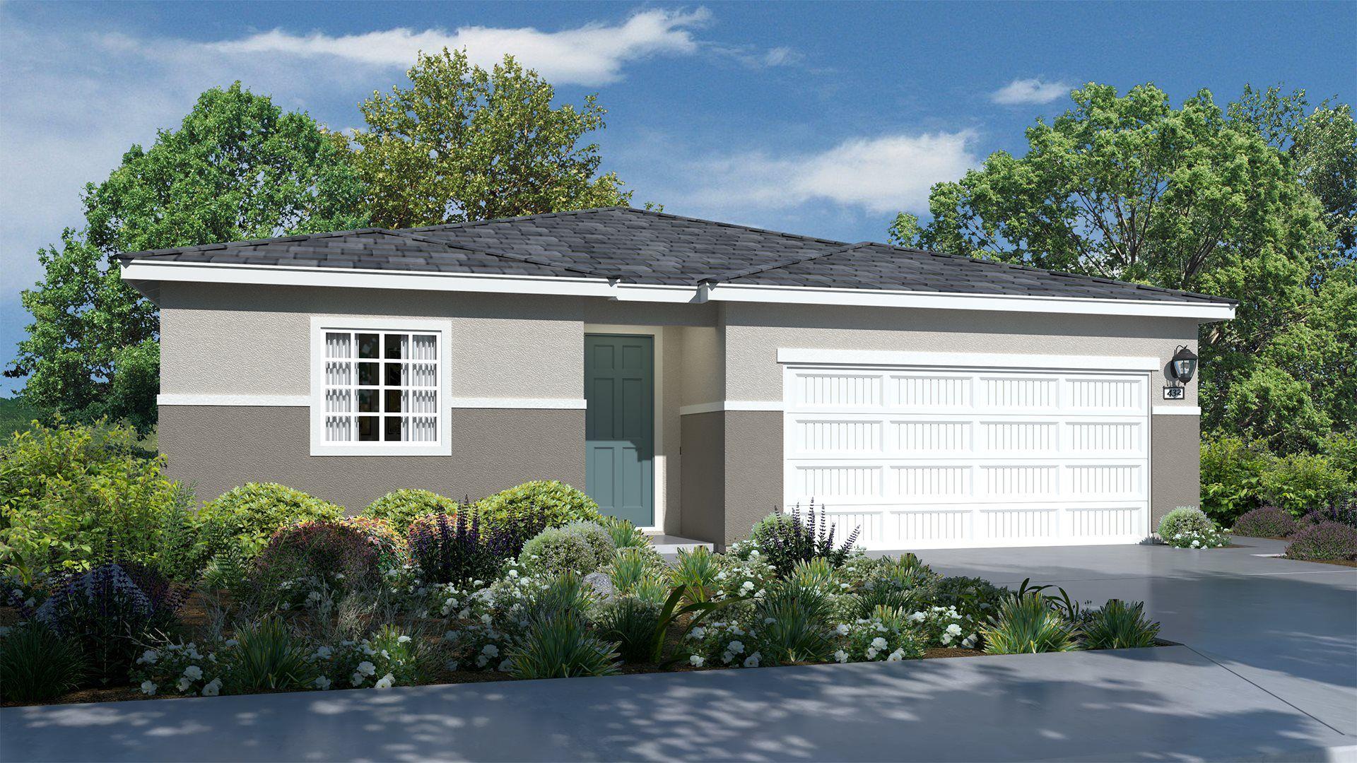Residence 1951 | Elevation C
